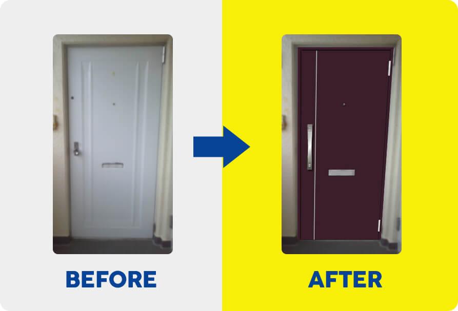 ドアリフォーム Before & After