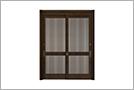 戸が2枚の引違い戸
