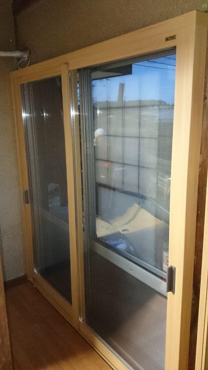 内窓設置,施工事例,千葉県,八街市