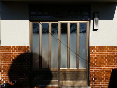 玄関引戸施工前