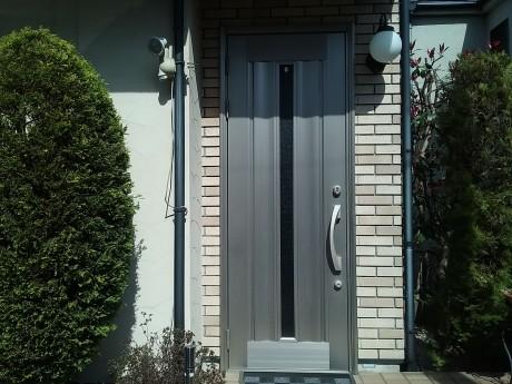 玄関ドア施工前