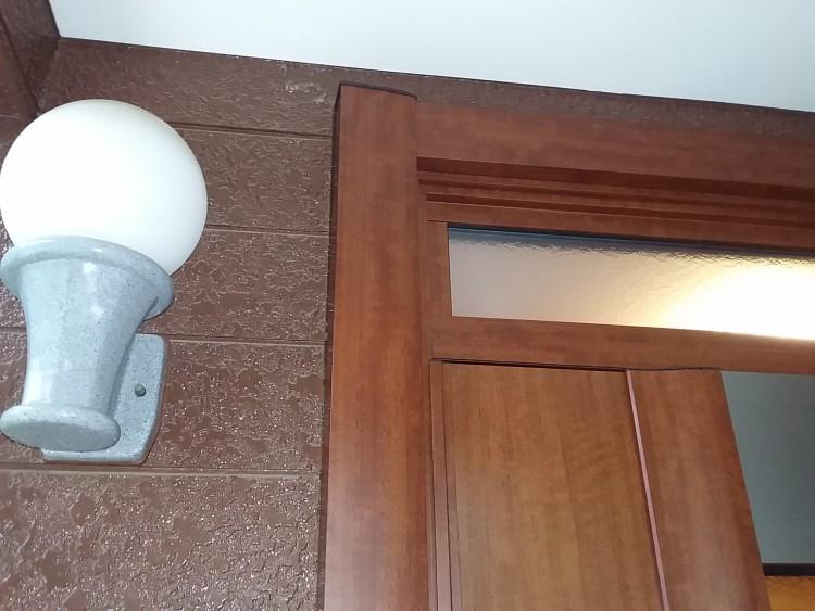 (リフォーム後) ドア左側上部