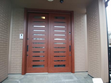 LIXILリシェント玄関引戸16型