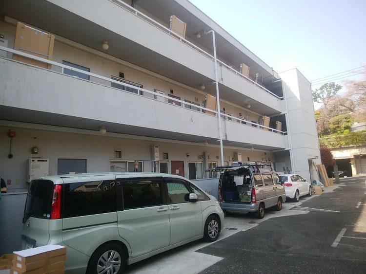 マンション玄関ドアリフォーム,カバー工法,大田区