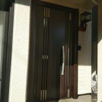 防火戸の玄関ドアでもLIXILリシェントなら採風タイプもあります【LIXILリシェントM83型防火戸】