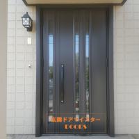 セキスイハイムの玄関ドアもリフォームできます【LIXILリシェントG15型】龍ヶ崎市の工事事例