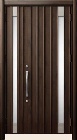 LIXILリシェントⅡ B61型 親子ドア アンティークオーク