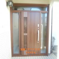 両袖枠のドアならドアを大きくできます【LIXILリシェントM83型】