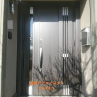 セキスイハイムの玄関ドアを採風ドアに【LIXILリシェントM83型】