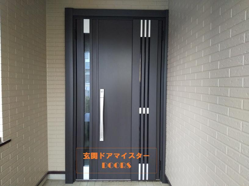 川口技研ALKINGを採風ドアにリフォーム【LIXILリシェントM83型】佐倉市の工事事例