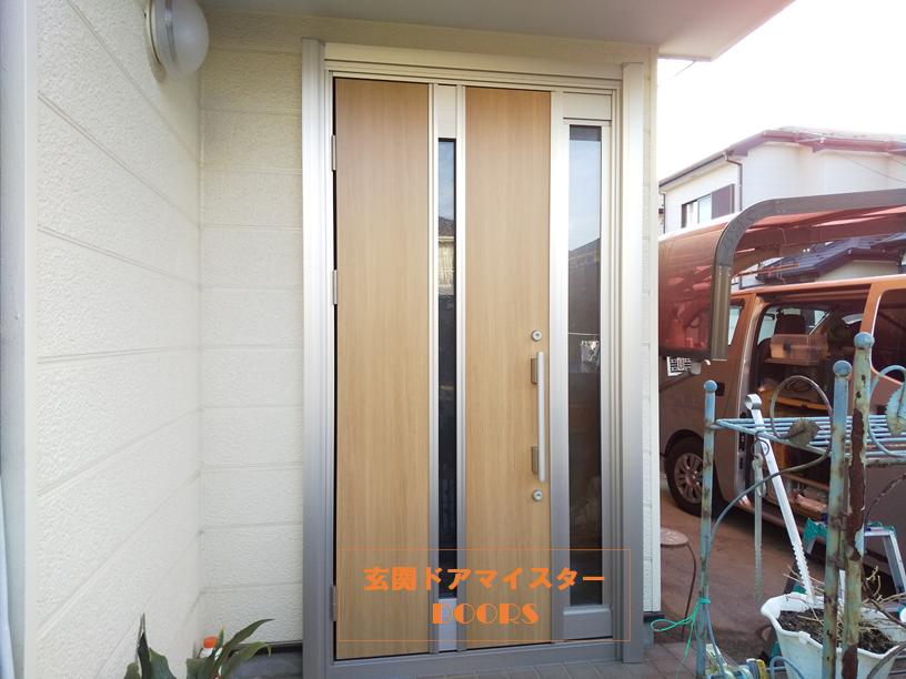 換気ができるドアにして快適な室内環境にした施工事例