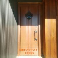 ガラスがないドアをガラス入りのドアに交換【LIXILリシェントD77型】