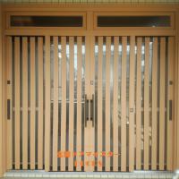 戸が4本の玄関引戸も1日で交換できます【YKKAPドアリモ玄関引戸A01】松戸市の工事事例