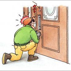 玄関ドアリフォーム 防犯