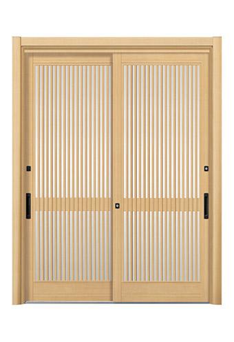 2枚建て玄関引き戸