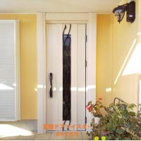 玄関ドアも勝手口ドアも風が通るドアにできます【YKKAPドアリモE09T】