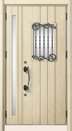LIXILリシェントⅡ C42型 親子ドア エクリュアイボリー