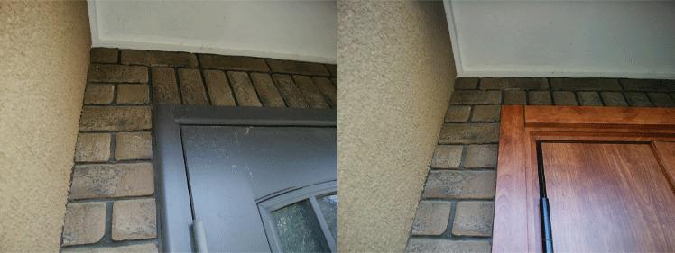 玄関ドアリフォーム,施工事例,千葉県,四街道市
