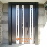 ハウスメーカーのドアも得意です【LIXILリシェントM24型】