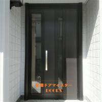 セキスイハイムのドアを換気ができるドアにリフォーム【YKKAPドアリモC07T】我孫子市の工事事例