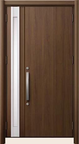 LIXILリシェントⅡ A22型 親子ドア アンティークオーク